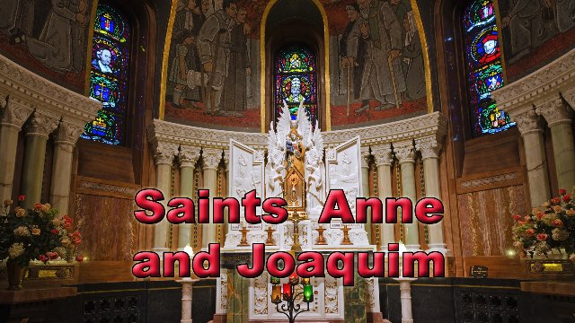 Saints Anne and Joaquim