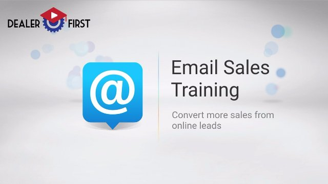Email Sales Training