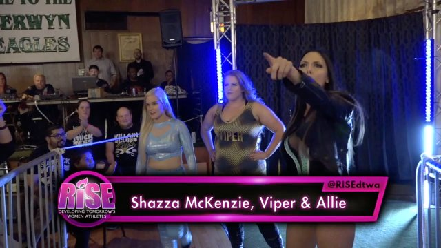 RISE - ASCENT, Episode 21 - 4 Country 6 Woman Tag