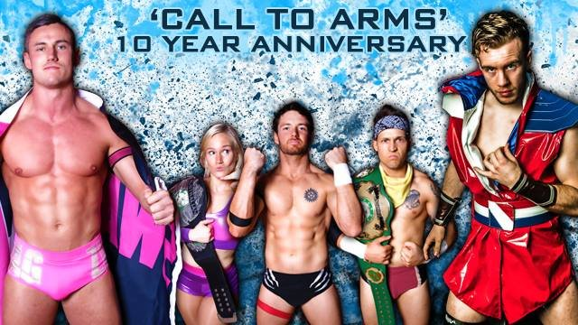 PWA - Call to Arms 10 Year Anniversary event feat. Will Ospreay vs Robbie Eagles