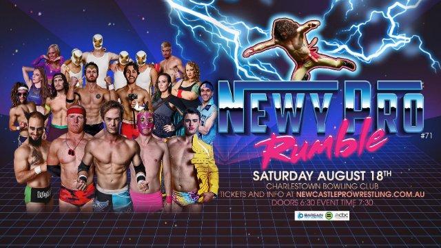 Newcastle Pro Wrestling #71 - Newy Pro Rumble 2018