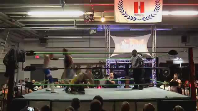07/9/16 Jamie Senegal (C) Vs Johnny Vicious Vs Pretty Fly Vs Hayne - ACW Crusierweight Title Match