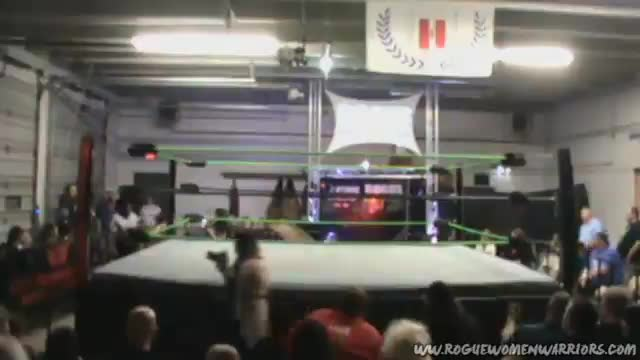 09/09/17 LuFisto Vs Stefany Sinclair - in a Tables Match