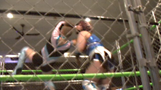 08/25/18 - Trixie Tash (c) Vs LuFisto - Steel Cage Rogue Championship