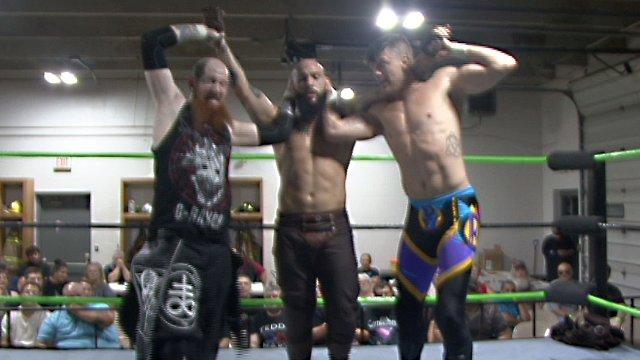 09/15/18 - G-Raver Vs Breaux Keller Vs Victor Benjamin - ACW Heavyweight Championship