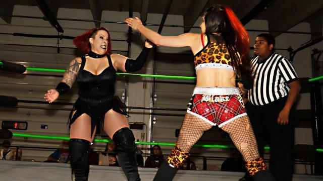 12/15/18 - Brittany Blake Vs LuFisto (c) - Rogue World Championship
