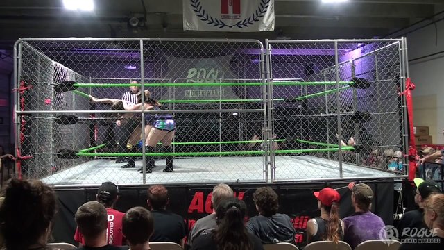 08 /24/19 Tess Valentine Vs Erica Leigh  in a Steel Cage  to Crown a New Rogue Champion