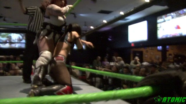 02/02/19 LuFisto (C) Vs Thunder Rosa  - Rogue Women Warriors Title Match