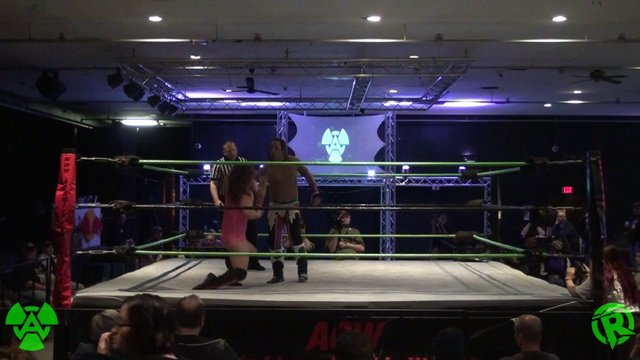 12/28/19 (C) Dame Vs Andy Header - ACW Heavyweight Title Match