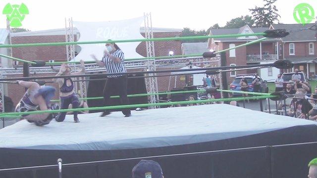 07-18-20 Riley Shephard (C) Vs Layna Lennox  - Rogue World Title Match
