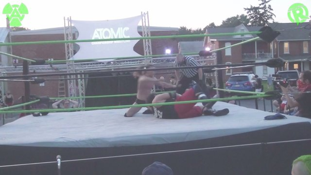 07-18-20 Dame (C) Vs Tim Donst  - ACW Heavyweight Title Match