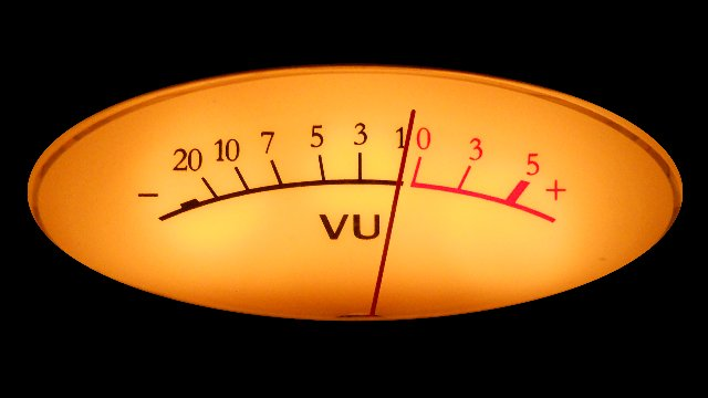 Gain Staging your Mix using VU Meters