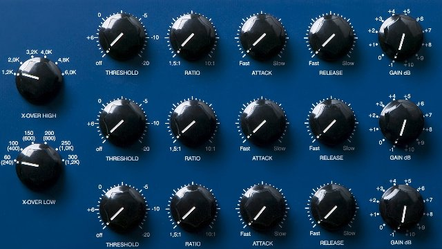 Comparing Different Opto Compressors