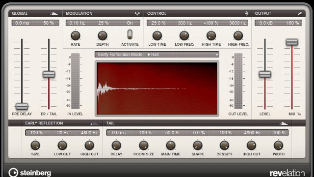 Using Cubase's Stock Reverb Plugins