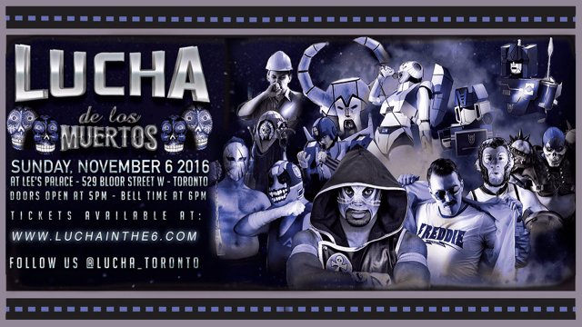 LUCHA DE LOS MUERTOS feat. Jason Kincaid, Cybertronic Spree & Kaiju Big Battel