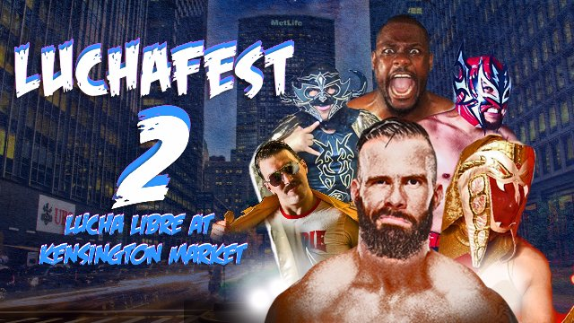LUCHAFEST 2 feat... Ophidian, Psicosis Jr, Aeroboy, Tyson Dux & Smiley