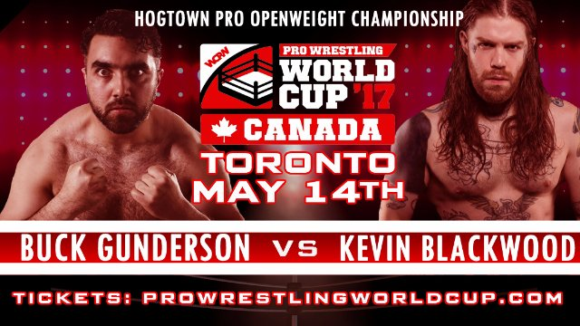 WCPW World Cup Canadian Qualifiers Pre-Show: Buck Gunderson vs Kevin Blackwood