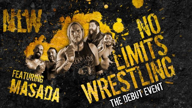"NO LIMITS WRESTLING - ""The Debut Event"""