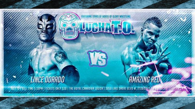LUCHATO: Chapter 1 feat. Amazing Red, Lince Dorado, Anthony Gangone & Smiley