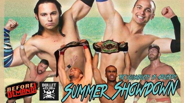 SCL SUMMER SHOWDOWN w/ The Young Bucks