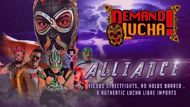 ALLIANCE w/ El Hijo de Fishman, El Canek Jr, Serpentico & IMPACT'S The Laredo Kid