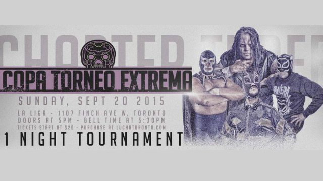 COPA TORNEO EXTREMA w/ Blue Demon Jr, Lince Dorado, Shane Strickland, El Pantera & Vampiro