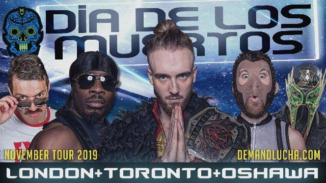 DIA DE LOS MUERTOS Tour 2019 feat. the HOG Heavyweight Championship