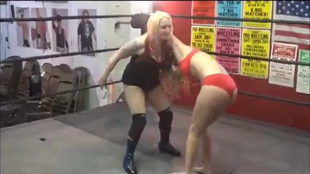 """Hardcore"" Heather Owens vs Ashley Wildcat"