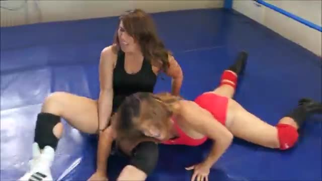 Allie Parker vs Jennifer Thomas 4 corners match!