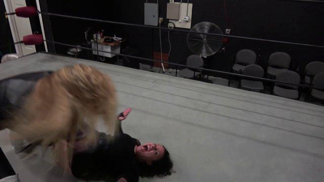 Aida Marie And Allie Parker vs Amber O'neal And Luscious Latasha