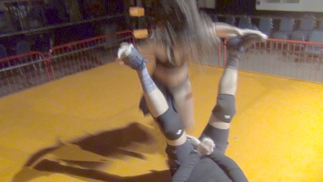Allie Parker vs Masked Man