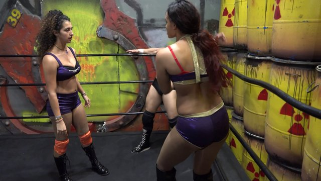 Kaci Lennox vs Sofia with Special Referee Chasyn Rance A Mixed Beatdown & A Betrayal?