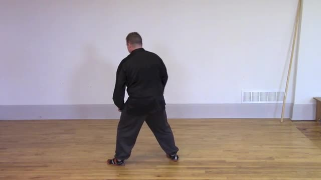Tai Chi 1 - Lesson 20 ~ Single Whip and High Pat on Horse