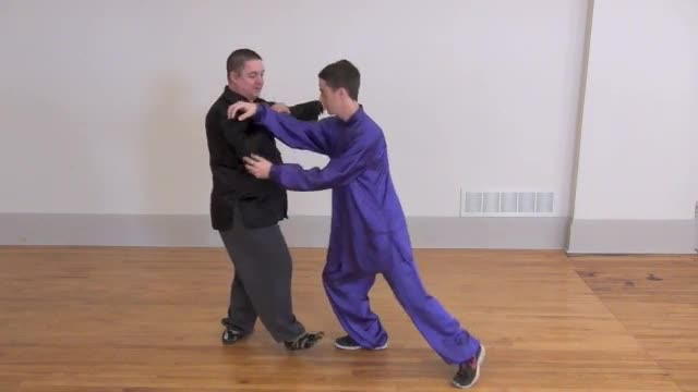 Level 1 - Lesson 14 ~ Martial Applications of Twist step, Deflect, Step, Parry, Punch-Push