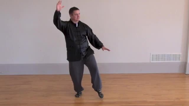 """Level 1 - Lesson 9 ~ """"Step up to raise hands"""" and """"White crane spreads its wings"""""""