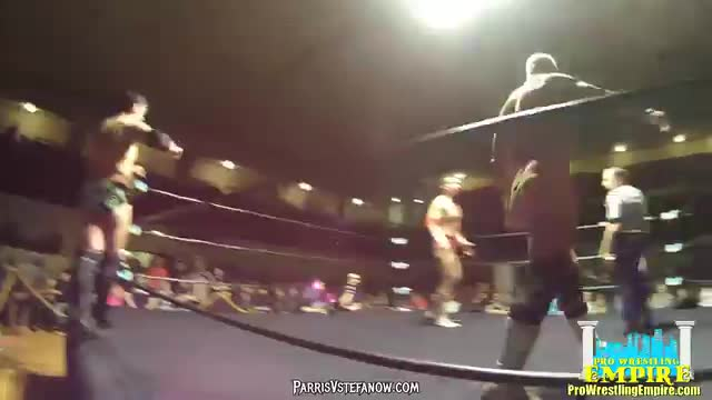 Billy Gunn & Sean Carr vs Eddie Smooth & Laszlo Arpad - Pro Wrestling Empire, Winter Warfare 2/20/16