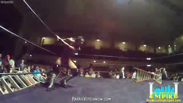Sean Carr vs Shane Strickland vs Eddie Smooth vs AR FOX - Pro Wrestling Empire, Collateral Damage 5/21/16