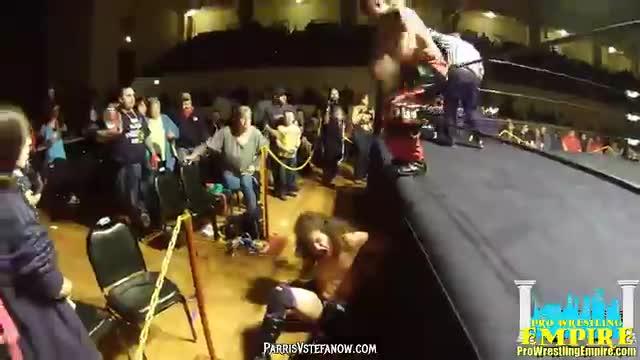Robby Illuminati vs Andrew Palace - Pro Wrestling Empire, Winter Warfare 2/20/16