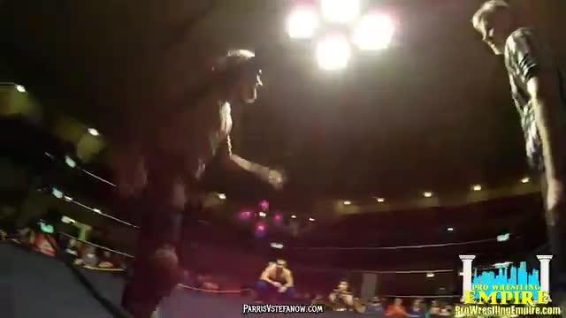 Neon Ninja Facade vs Gory vs Kai Katana - Pro Wrestling Empire, Winter Warfare 2/20/16