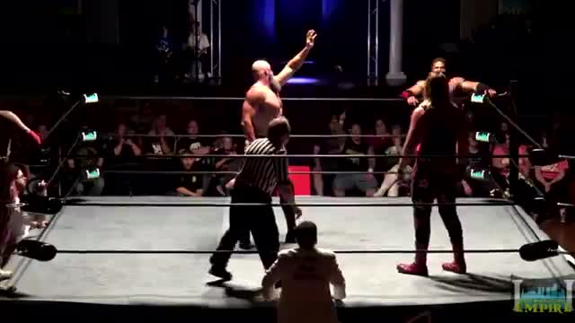 SniTsky & Red Scorpion vs Laszlo Arpad & Sean Studd - Pro Wrestling Empire, Collateral Damage 5/27/17