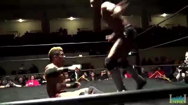Lio Rush vs Shane Strickland - Pro Wrestling Empire, Winter Warfare 2/20/16