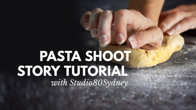 PASTA FOOD PHOTOGRAPHY WORKSHOP