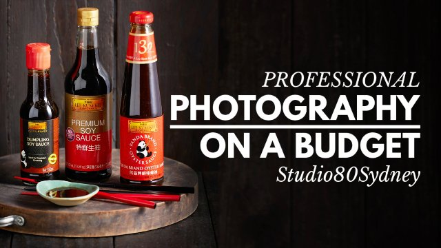 PRODUCT PHOTOGRAPHY ON A BUDGET WORKSHOP