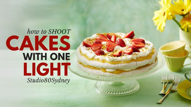 CAKE PHOTOGRAPHY TUTORIAL