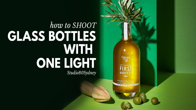 GLASS BOTTLE PHOTOGRAPHY TUTORIAL