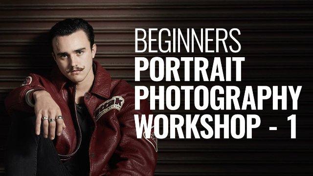 BEGINNERS PORTRAIT PHOTO WORKSHOP - 1
