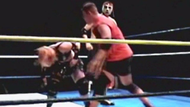 LuFisto Vs Kevin Steen Vs El Generico
