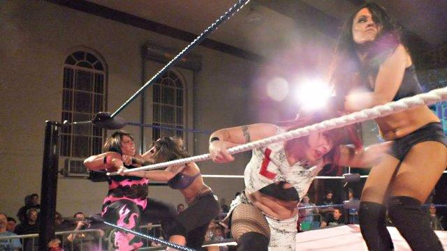 Anything Goes: LuFisto & Sweet Cherrie Vs Cheerleader Melissa & Mercedes Martinez