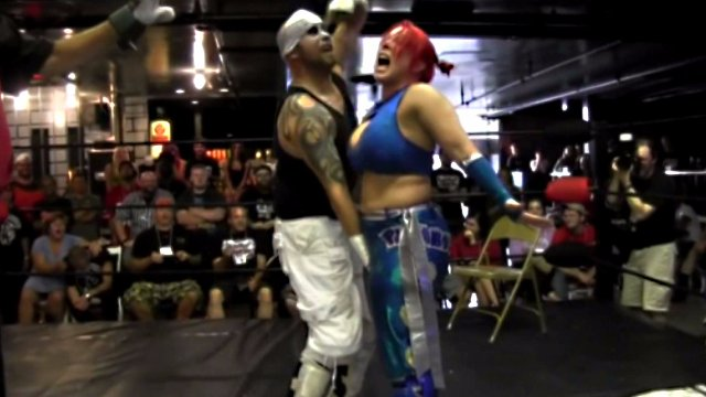 Deathproof Hardcore Match: LuFisto Vs Warhed