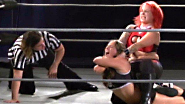 "North-American Joshi Match : LuFisto Vs ""Crazy"" Mary Dobson"